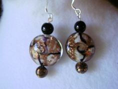 Black & Coppery  Earrings. Starting at $3 on Tophatter.com!
