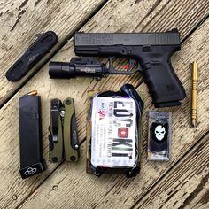 Glock 19/9mm EDC kit