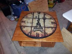 1000 images about coffee table clock on pinterest clock table clock and coffee tables. Black Bedroom Furniture Sets. Home Design Ideas