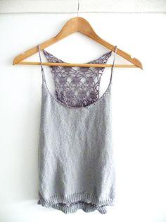 top dos en crochet. knit diy Knit Crochet, Knitting, Tank Tops, How To Make, Women, Fashion, Breien, Moda, Halter Tops