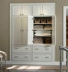 Get rid of closet that is in front of the entrance before the office, drywall the entrance and renovate the office into a laundry area with a walk through walk in closet that enters into the renovated master bathroom.