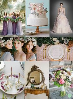 Modern #Romance Wedding Ideas Mood Board from The #Wedding Community