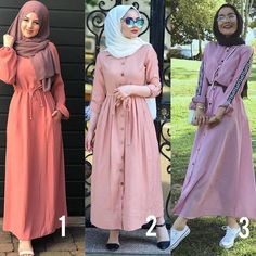 Fashion Hijab Awesome Outdoor Cute - In Hijaber Hijab Dress Party, Hijab Style Dress, Abaya Fashion, Muslim Fashion, Fashion Outfits, Style Hijab Simple, Stylish Hijab, Pakistani Dresses Casual, Hijab Trends