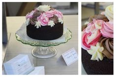Petal Topcake - Chocolate Cake Sponge with Raspberry, Chocolate and Vanilla Cream Cheese Icing #petalcupcakes [6 inches]
