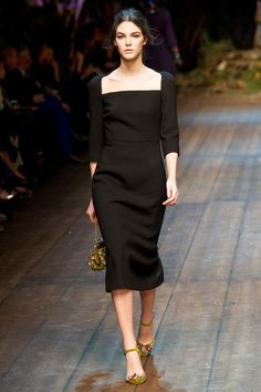 FALL 2014 READY-TO-WEAR Dolce & Gabbana Vittoria Ceretti
