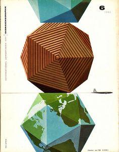 cover of Gebrauchsgraphik by Erik Nitsche (1961)