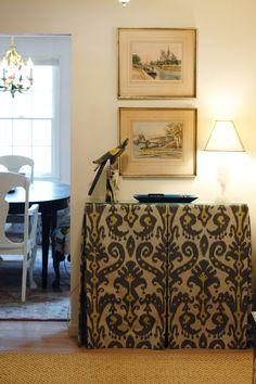 Skirted Table - Little Green Notebook, Jenny Komenda