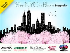 InNewYork.com is organizing the See NYC in Bloom Sweepstakes and is giving away the chance to win a vacation package to New York City!