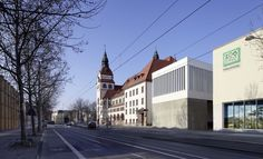 Bei den Tieren tagen - Erweiterung der Kongresshalle in Leipzig von HPP