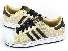 Adidas Originals Superstar 2 W Metallic Gold/Black/White Classic Trefoil G63095