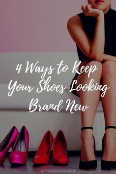 Learn how to keep your shoes looking brand new. There's nothing worse than getting rid of shoes because you didn't take care of them. The CGS Team is sharing 4 tips to help you keep your shoes looking like they just came out of the box!