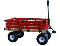 Classic Kid's Wagon - 5x13 Pneumatic tires