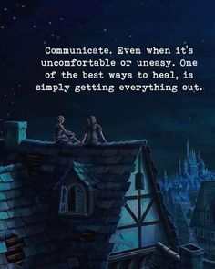 Communicate. Even when its uncomfortable or uneasy.. via (http://ift.tt/2g0sjAG)