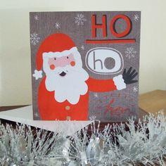 Santa Illustrated Christmas Card £3.00 https://www.etsy.com/listing/87668780/santa-illustrated-christmas-card #santa #fatherchristmas #christmas
