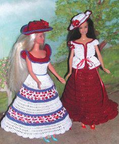 (1) HÄKELMODE 406 Spaß zu machen #5 für 11 1/2 Fashion Dolls wie Barbie-Original-Design von ICS Original Designs - machen mit #10 häkeln Gewinde. Wenn Sie möchten die Muster per e-Mail an Sie gesendet haben, anstatt per Post Versand werden frei aber lass es mich mit Ihrer Zahlung