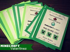 Minecraft Valentine's and free Minecraft fonts