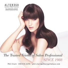 Salon exclusive products to satisfy the needs of all #hair types! #salonexclusive #behindthechair #modernsalon #salonprofessionals #colorist #alterego #alteregoitalynorthamerica #haircare #hairgoals #stylist #haircolor