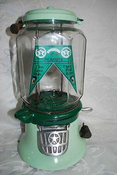 Vintage golf ball vending machine