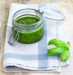I've actually made this because I'm obsessed with pesto. Good on everything. (try linked recipes to do WITH pesto)