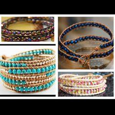 DIY wrap bracelets (: