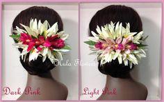 Tropical Hawaii Flowers Hair Clip For Hawaiian Hula by HulaFlowers
