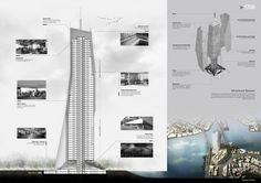 """The Living Tower"" - Office Building | Onie Khondaker"