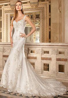 Demetrios 1486 Mermaid Wedding Dress