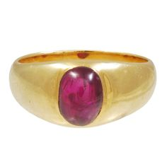 1stdibs - Cabochon Ruby Gold Ring 1910 circa explore items from 1,700  global dealers at 1stdibs.com