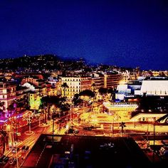 Beautiful Cannes. #cannes #france #frenchriviera #travel #traveling #city #night #cannesfestival #lights #photography #wanderlust #holiday #vacation #visit #canon #picoftheday #film #color #colorful