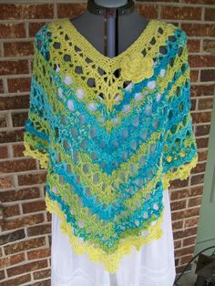 Hey, I found this really awesome Etsy listing at https://www.etsy.com/listing/159906814/plus-size-lacey-crochet-poncho-cover-up