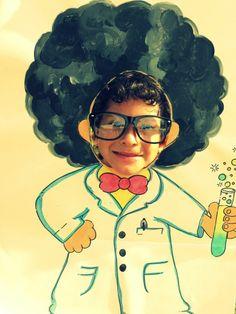 science party | via bethany vangrin