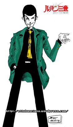 #Inktober #Draw #Disegno #Sketch #LupinIII #LupinTheThird #LupinThe3rd #Comics #comicbook