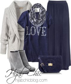 Hijab fashion: old navy shirt