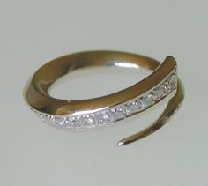 Platinum Diamond Ring Top Set