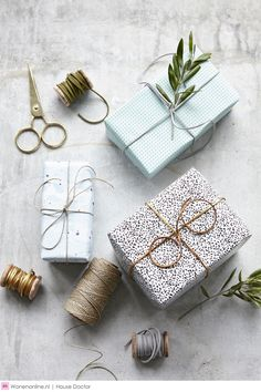 dreamy gift wrap