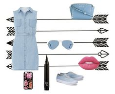 """""""Denim"""" by diamondluv on Polyvore featuring Dorothy Perkins, MICHAEL Michael Kors, Ray-Ban and Lime Crime"""