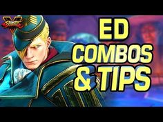 Ed Combos & Tips with Street Fighter 5 Pro Gllty Street Fighter 5, Show Us, You And I, Guys, Movie Posters, Gaming, You And Me, Videogames, Film Poster