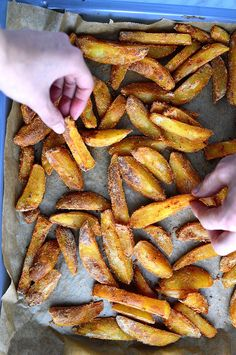 Oil-Free French Fries