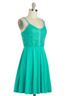 I'll Teal You What Dress, #ModCloth