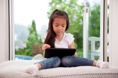 Tablets and Toddlers: Are They Helping or Harming Development? Read the last paragraph of this article and you will feel good about giving your child a tablet:-)