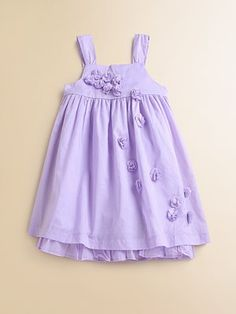 DKNY - Infant's Tiered Ombre Floral Dress and Bloomer Set ...