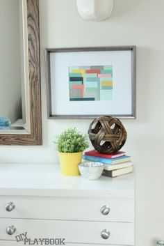 Easy & FREE paint swatch art