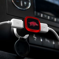 Arkansas Razorbacks USB Car Charger