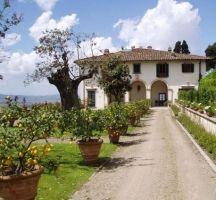 Italian Villas: Villa Medici, Fiesole, Toscana, Italy