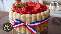 Strawberry Charlotte Cake Recipe 苺のシャルロットの作り方   4K & Hi-Res ASMR Cooking...