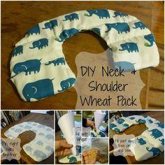 DIY Neck and Shoulder Wheat Bag