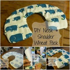 DIY Neck and Shoulder Wheat Bag