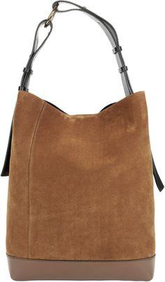 Shop Now - >  https://api.shopstyle.com/action/apiVisitRetailer?id=651150507&pid=uid6996-25233114-59 Marni Suede Hobo Bag  ...