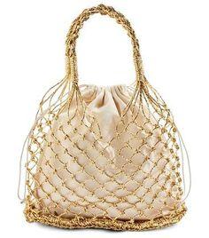 Trendy Women s Bags   Picture Description shakira woven shopper by Topshop.  A glittering net bag 1fcf869370026