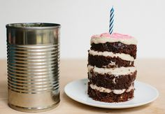 Tin Can Mini Cake
